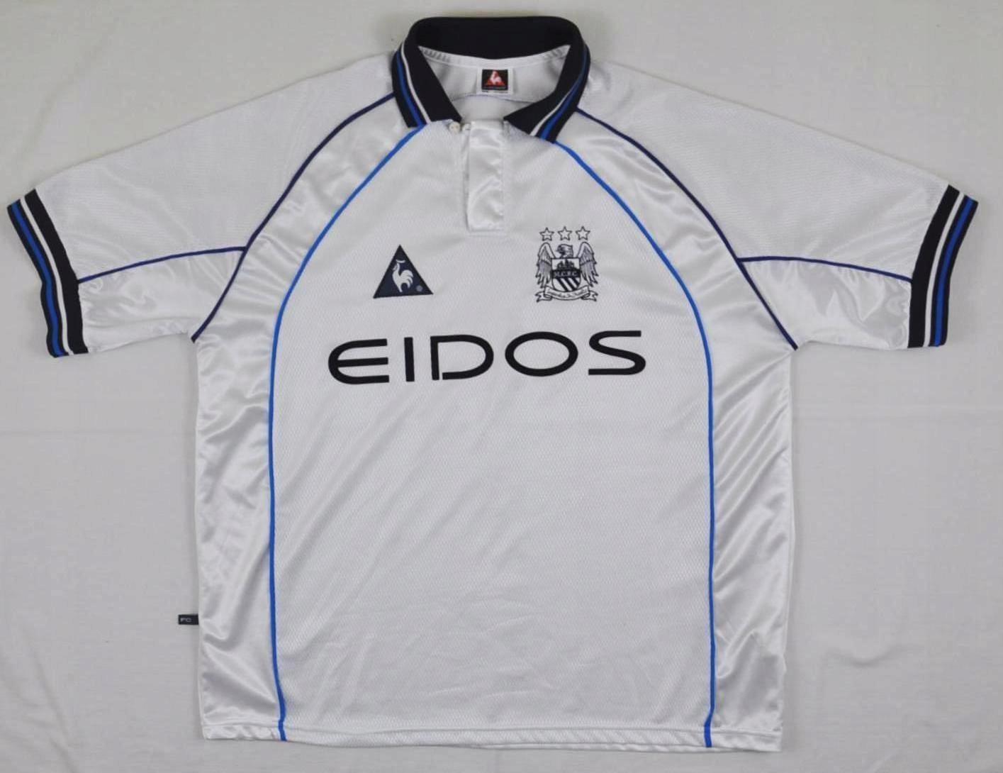 MANCHESTER CITY FC_AWAY 1999/2000_LE COQ SPORTIF