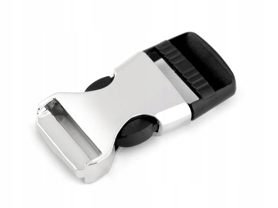 Klamra z regulatorem szerokość 15mm 10para