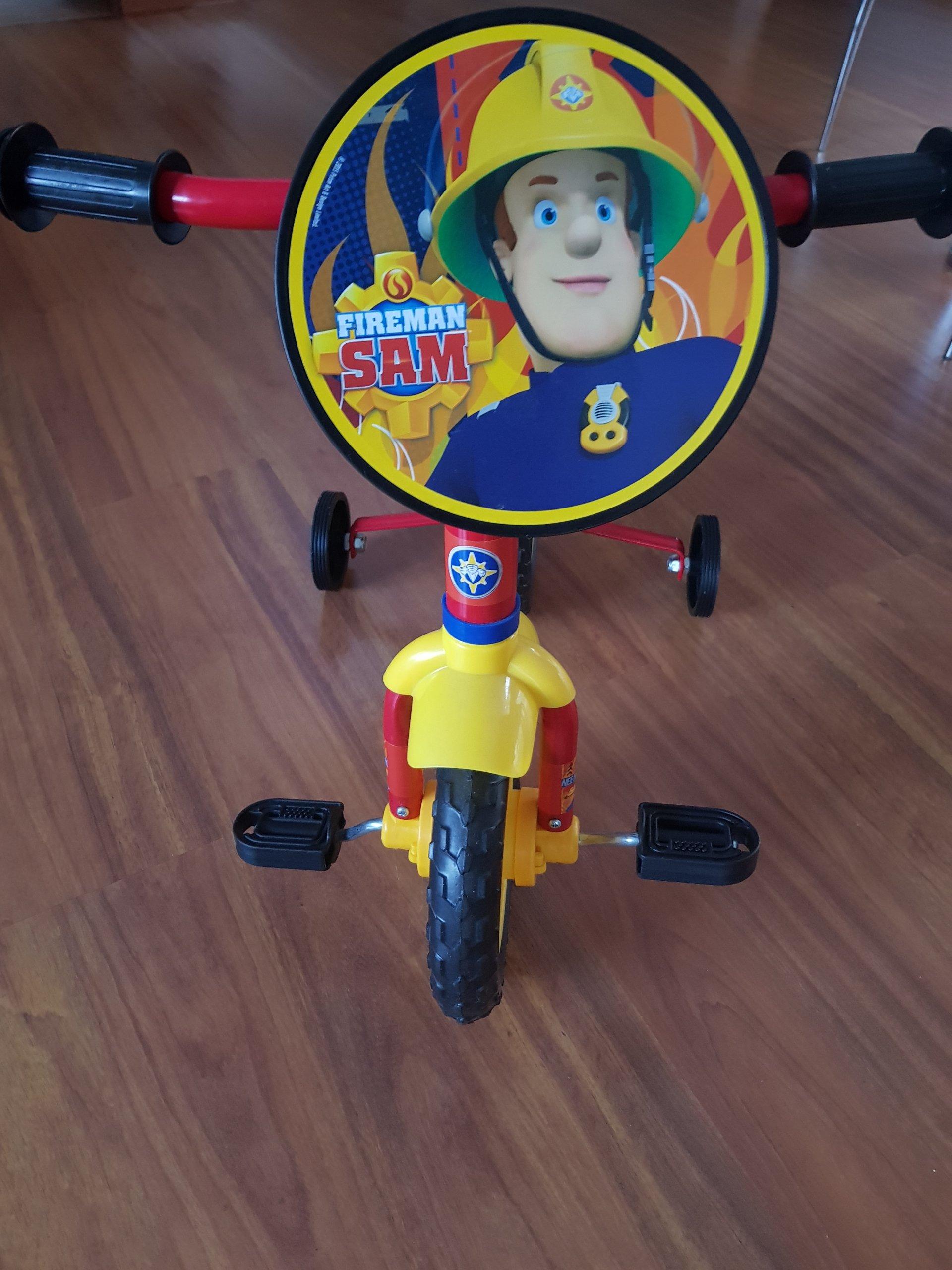 Nowy rowerek dla 3 latka