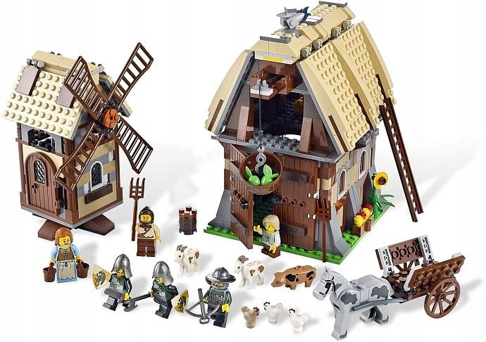 LEGO 7189 ATAK NA MŁYN SUPER UNIKAT