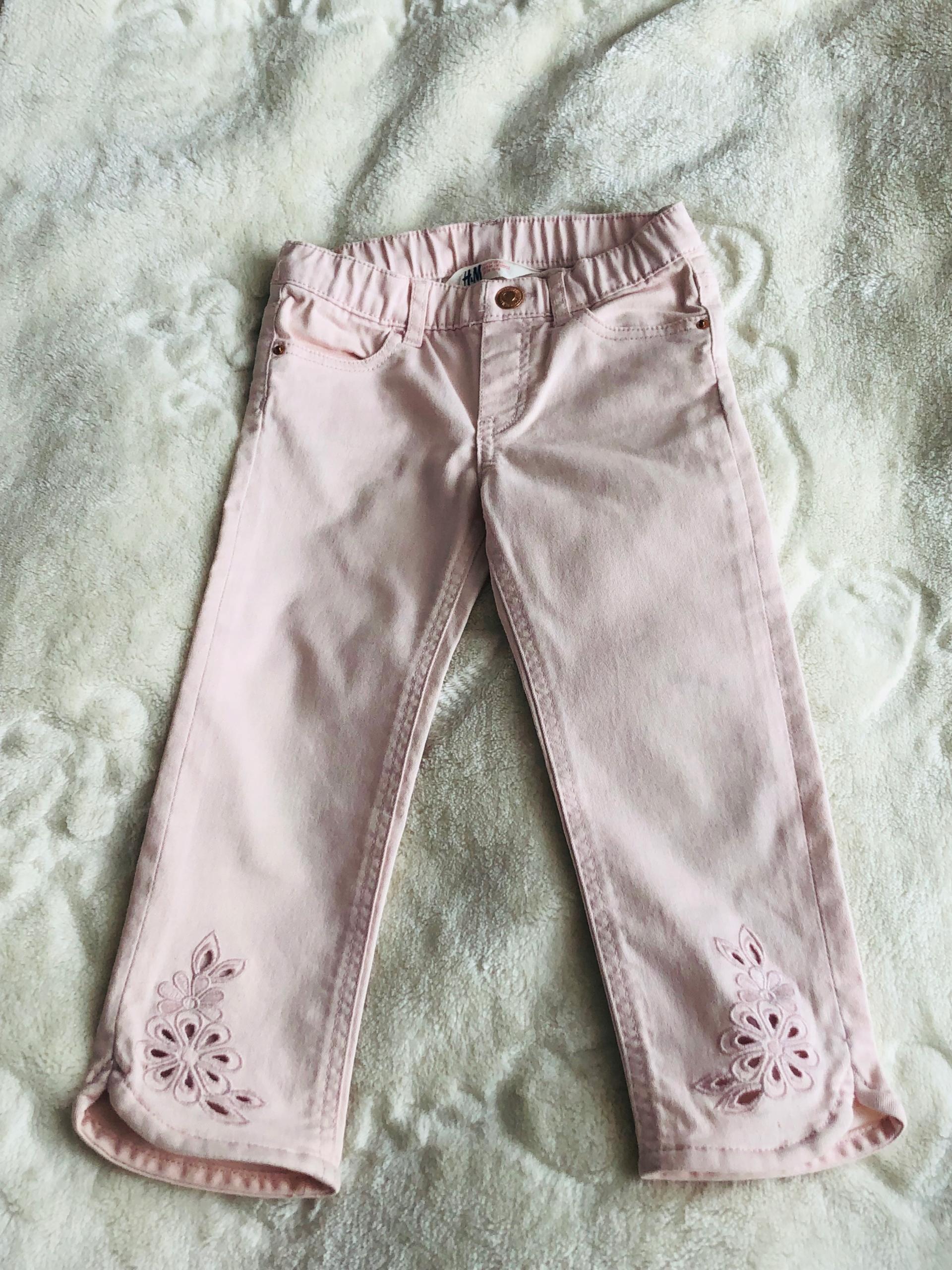 H&m jeansy bady roz hafty 116