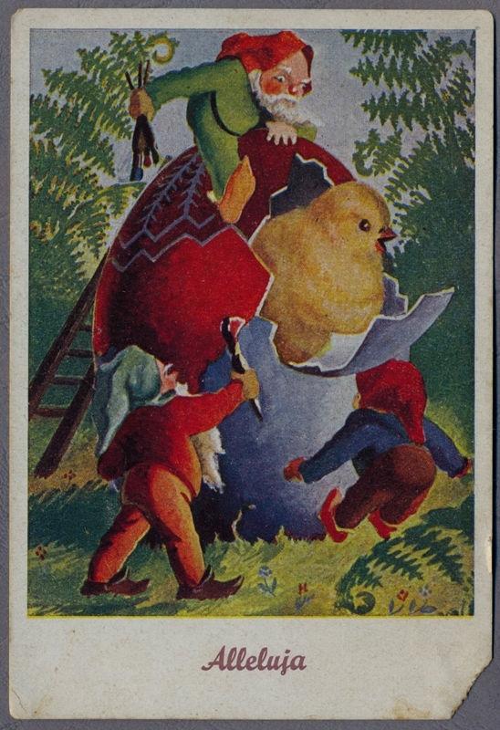 KRASNALE Polska WIELKANOC ok.1930r. Polska 818N