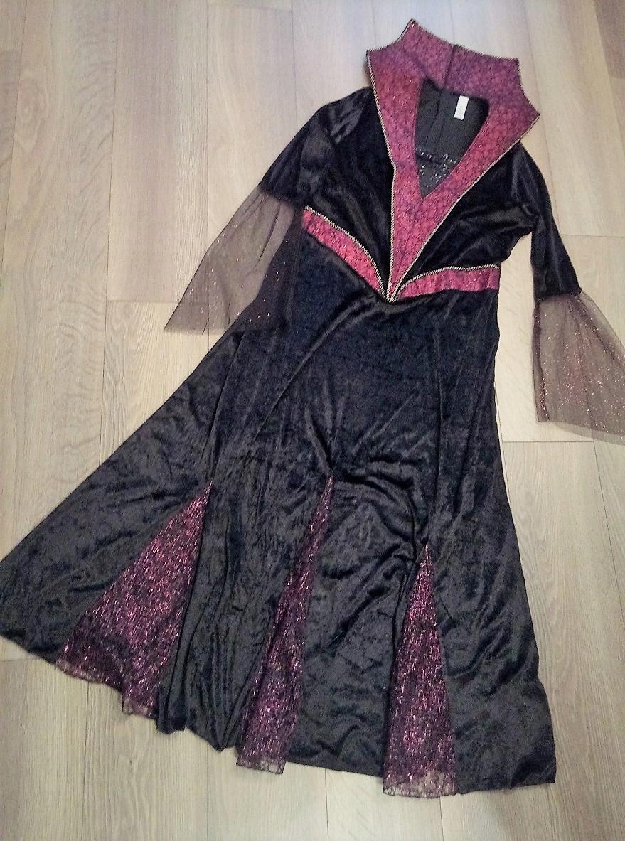 Piękna suknia ! Strój karnawałowy , rozm 48 - 50