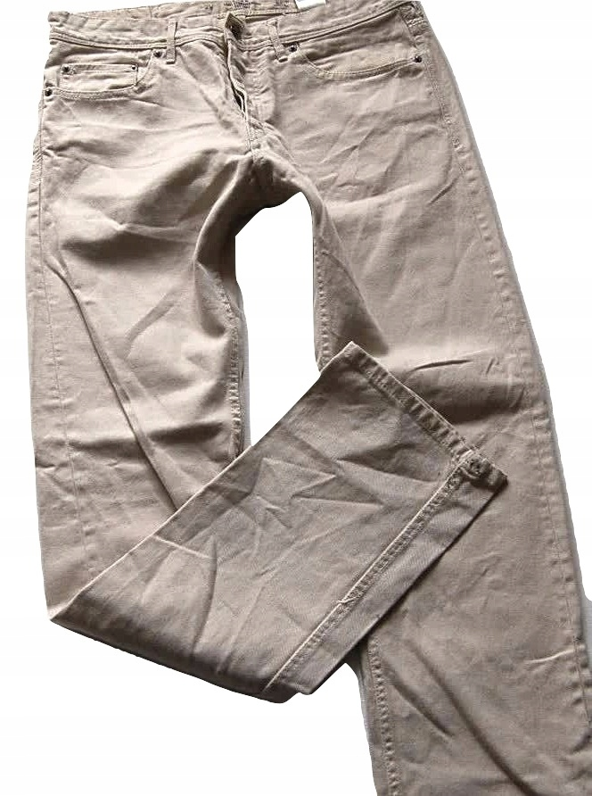 8K100 jeansy fajne SLIM FIT H & M 30/31 pas 82