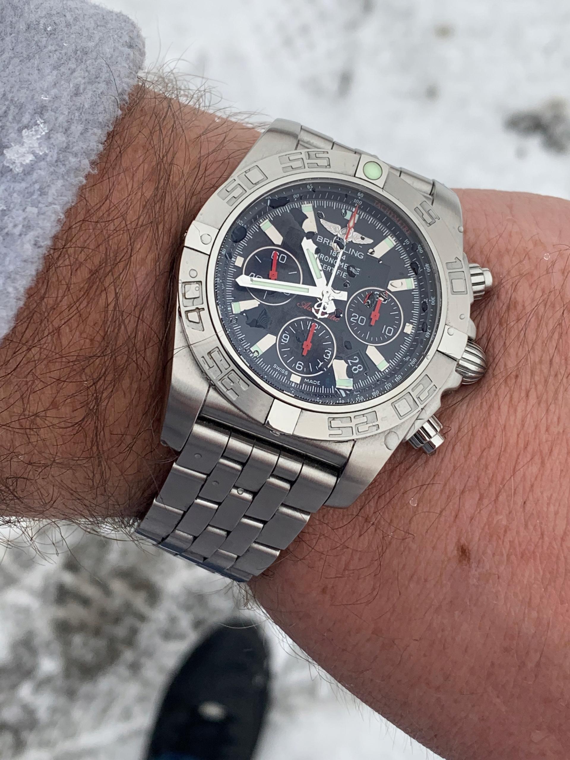 Breitling Chronomat 44 Limited Edition Komplet