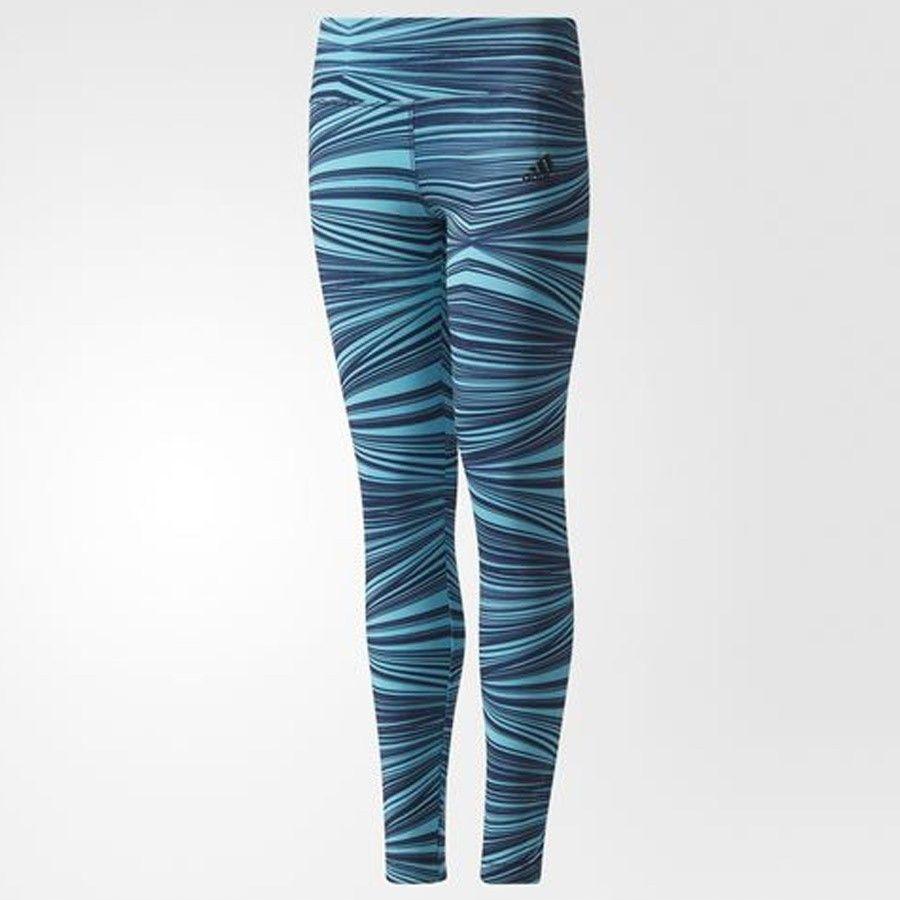 Spodnie adidas YG TR PR CD8934 - NIEBIESKI; 170 CM