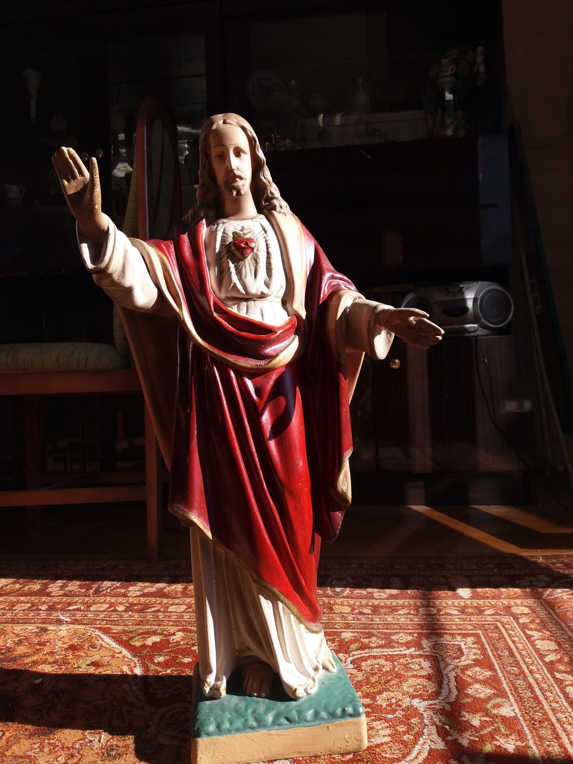 Najświętsze Serce Pana Jezusa - figura