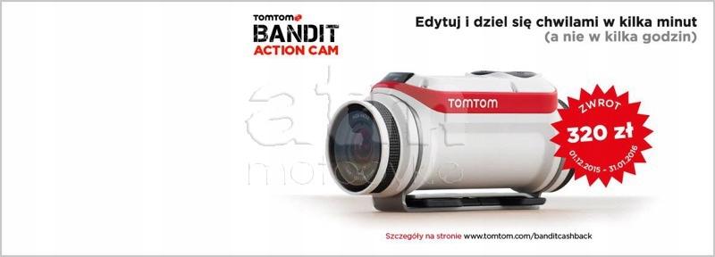 Kamera sportowa TomTom Bandit Base Pack