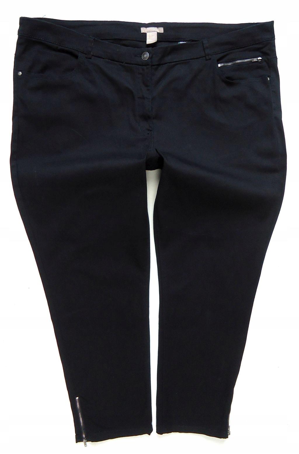 3109 H&M spodnie jeansy rurki SKINNY 50/52