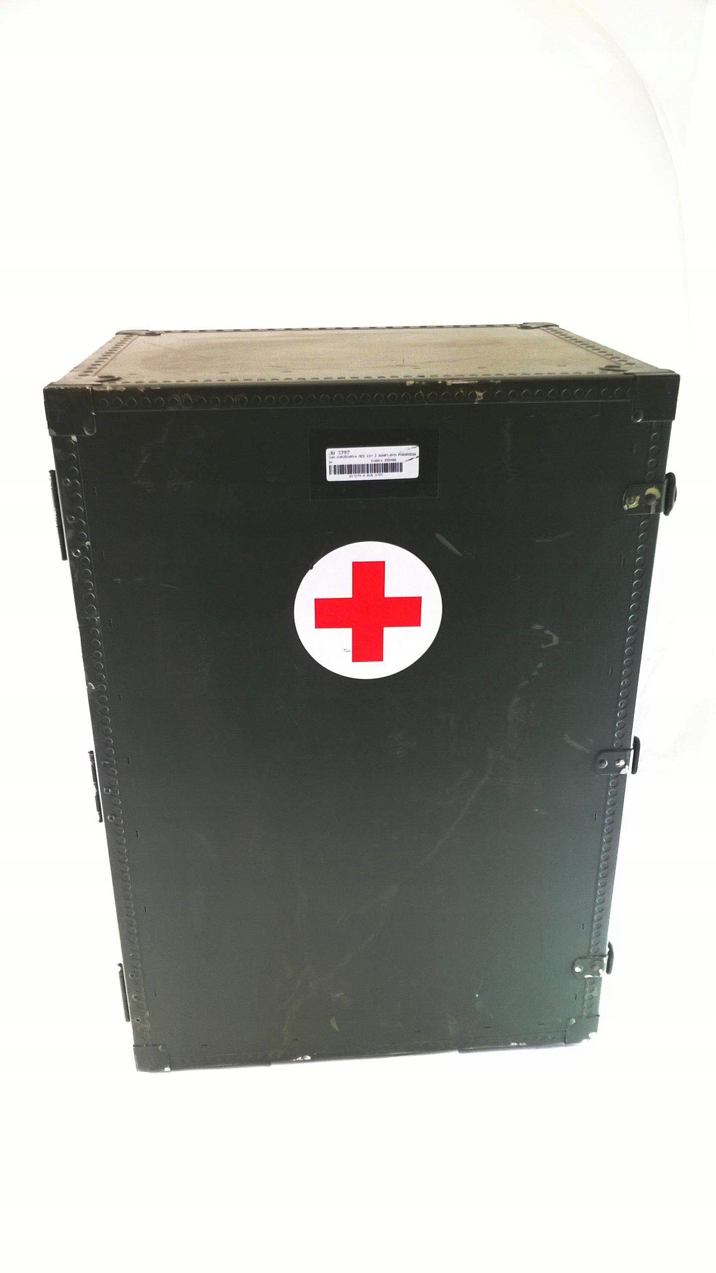 Wojskowy izolowany pojemnik transportowy 12V/24V