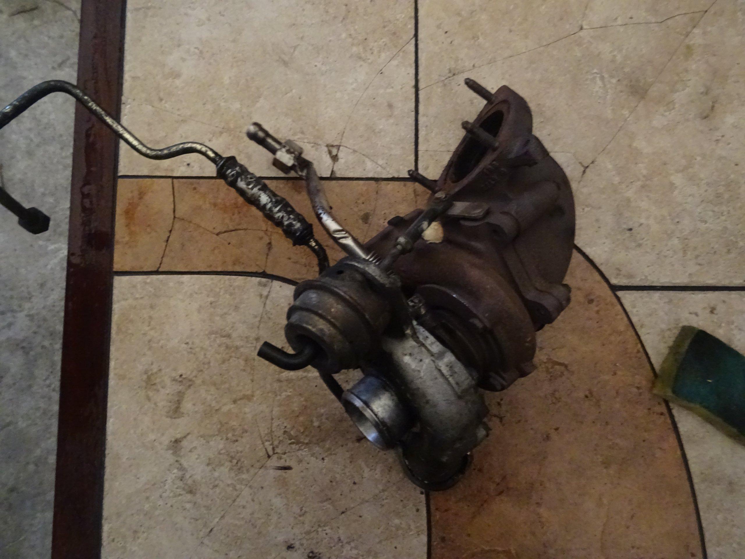Turbosprężarka 24442214 Opel Zafira A 2.0