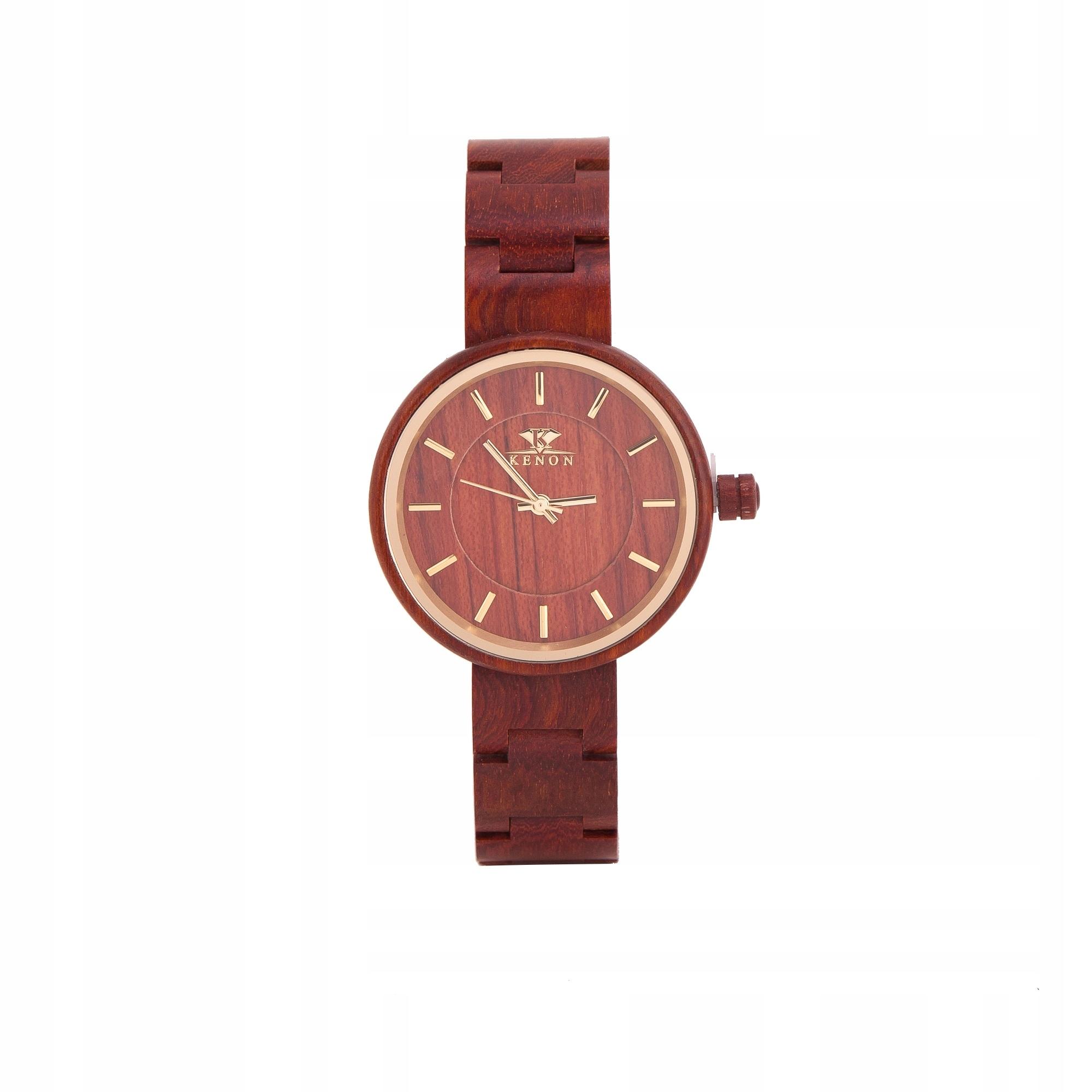 K KENON Drewniany zegarek dla niej i dla niego