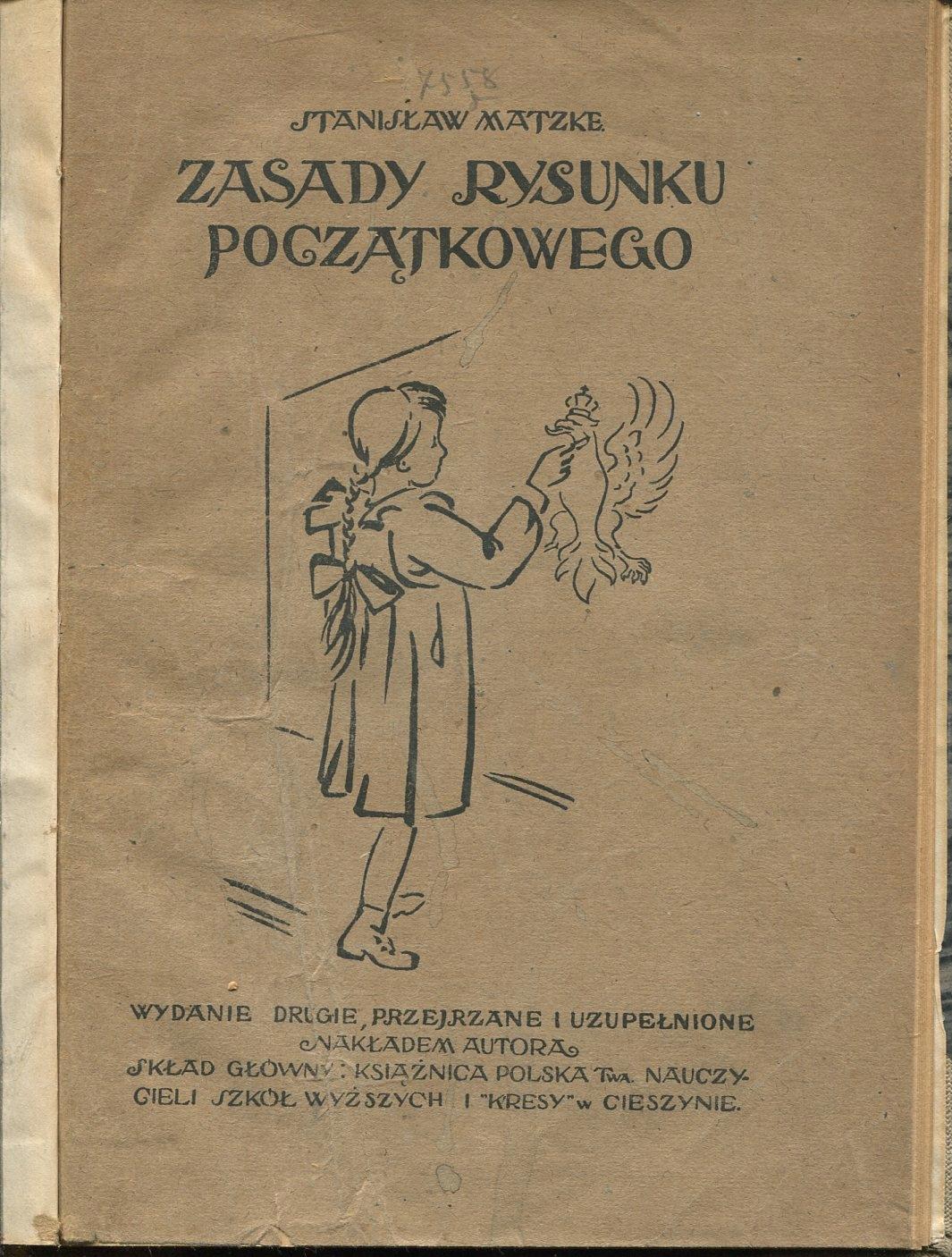 ZASADY RYSUNKU POCZĄTKOWEGO Matzke 1921 rysowanie