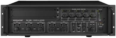Wzmacniacz Monacor PA-1240 240W + mikrofon ECM-200