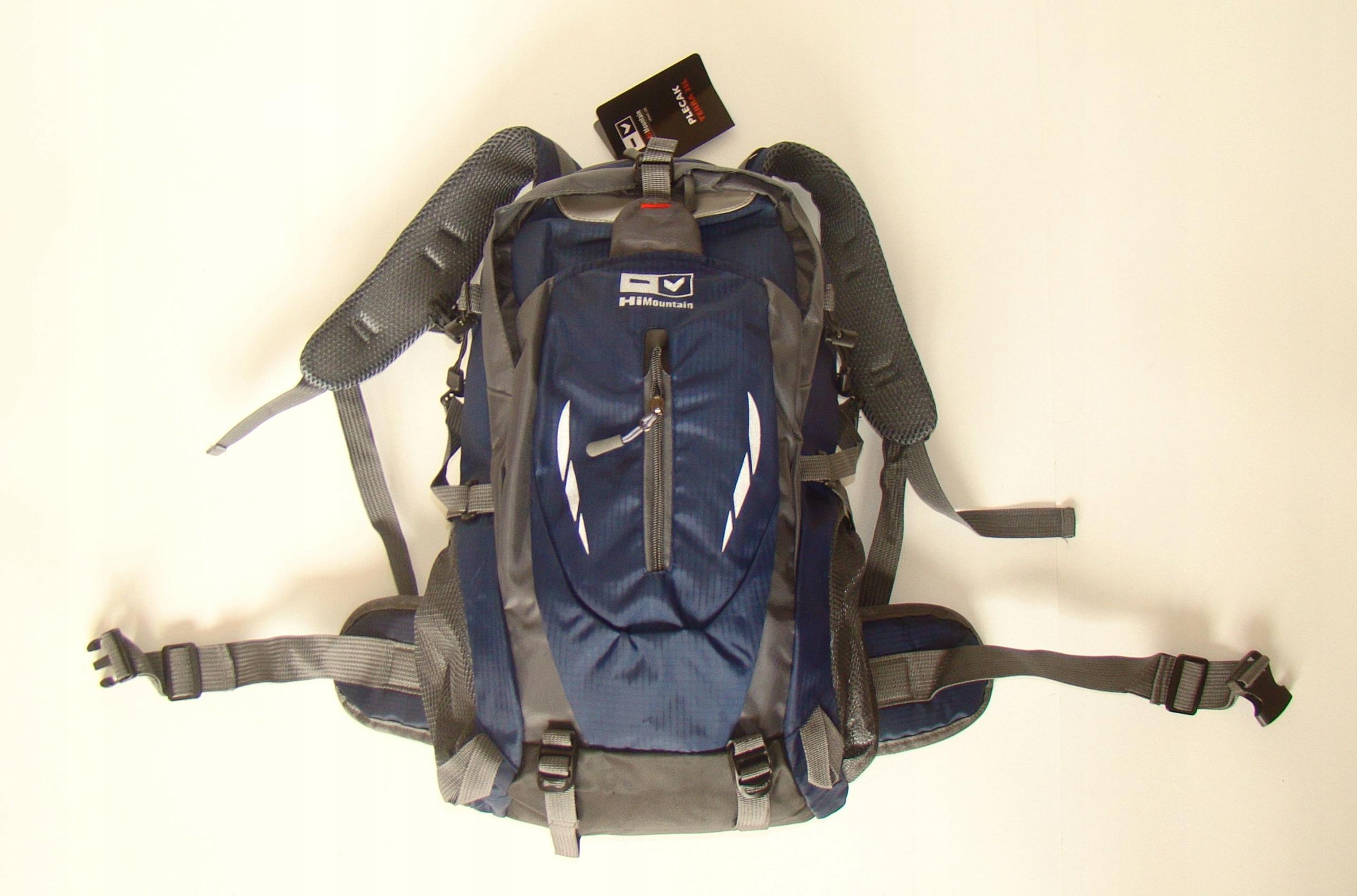 Plecak trekkingowy Hi MOUNTAIN TERRA 35L granat0wy