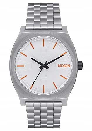 Zegarek Nixon The Time Teller SW BB-8 Silver/Orang