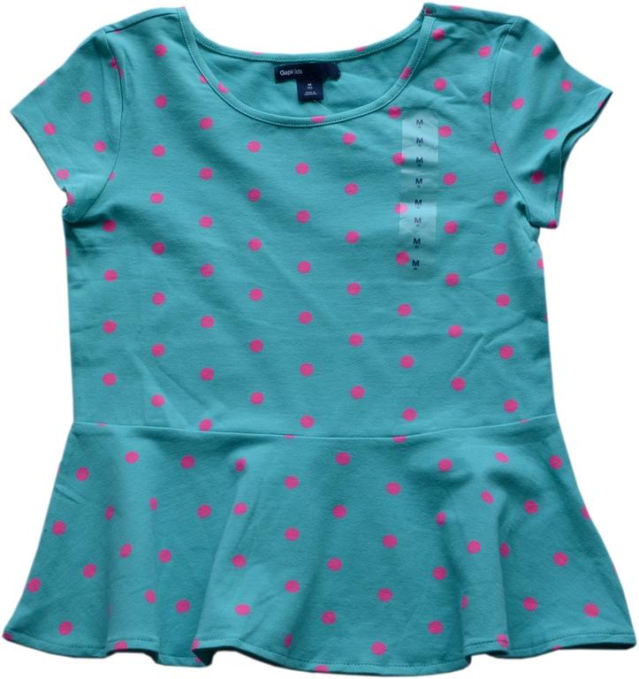 GAP koszulka top t-shirt bluzka M(8) 122-128 7-8