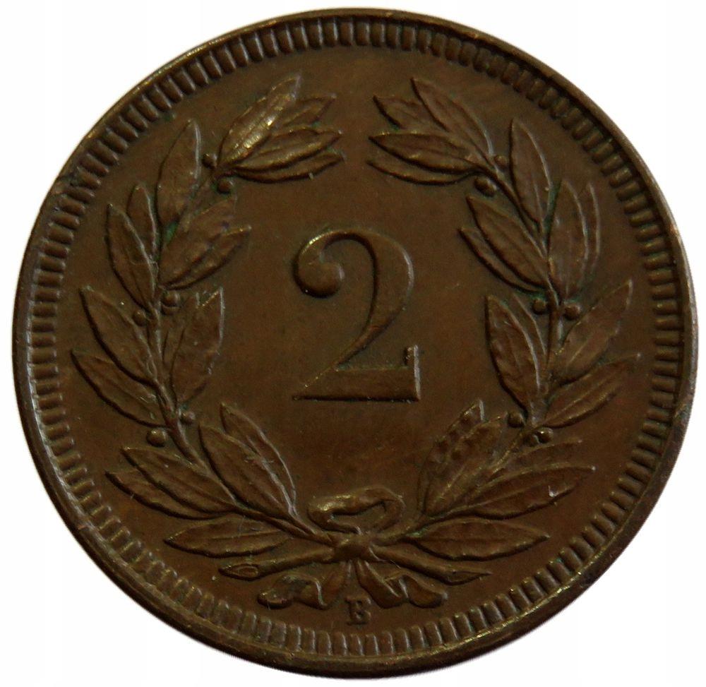 2 Rappen 1904 B - Szwajcaria