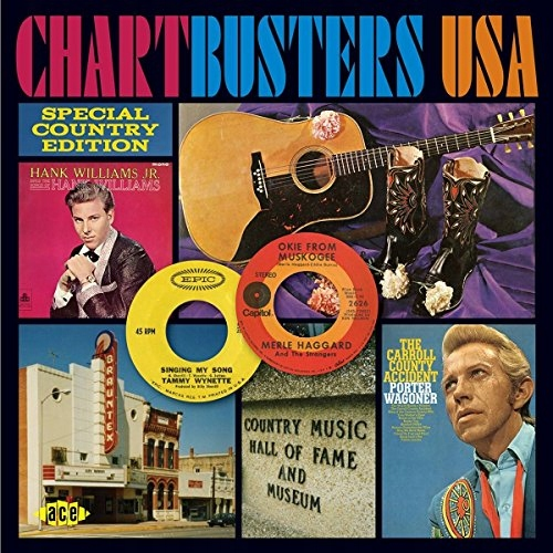 CD V/A - Chartbusters Usa:.. .. Special Country Ed