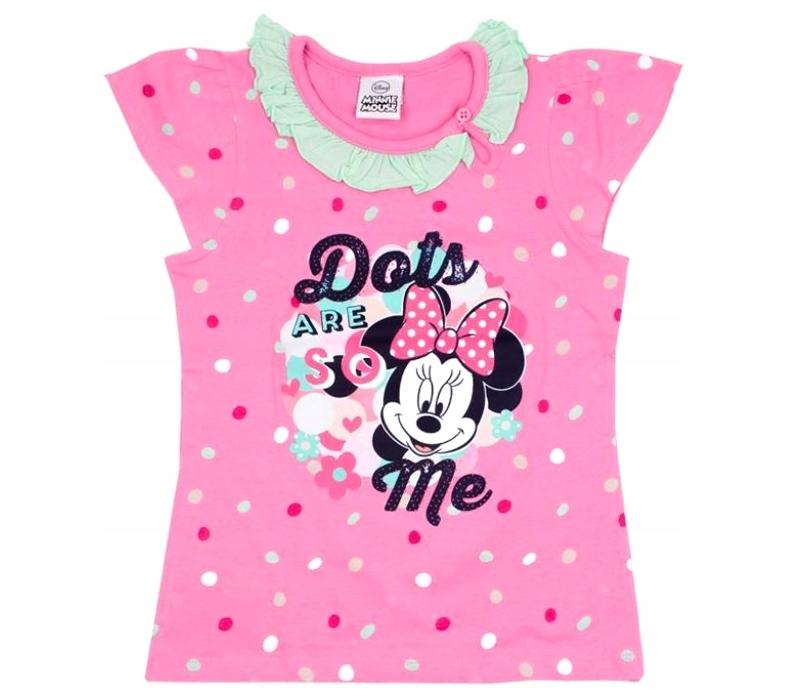 DISNEY MYSZKA MINNIE top koszulka t-shirt 104/110