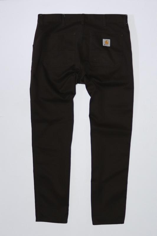 Spodnie CARHARTT Brązowe JEANS Męskie W 36 L 34