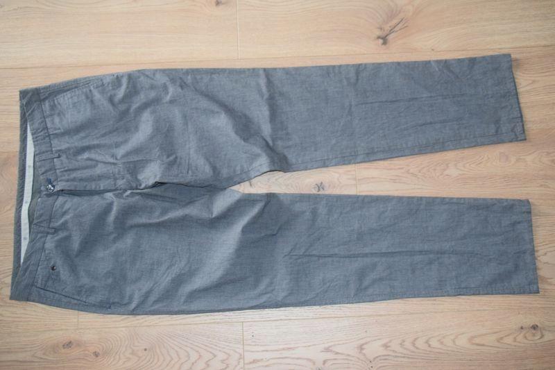 MASSIMO DUTTI męskie spodnie materiałowe 36/46