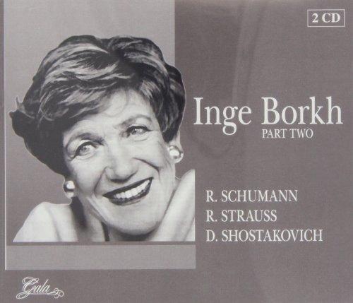 CD Borkh, Inge - Part Two Orch.Del Teatro Alla Sca