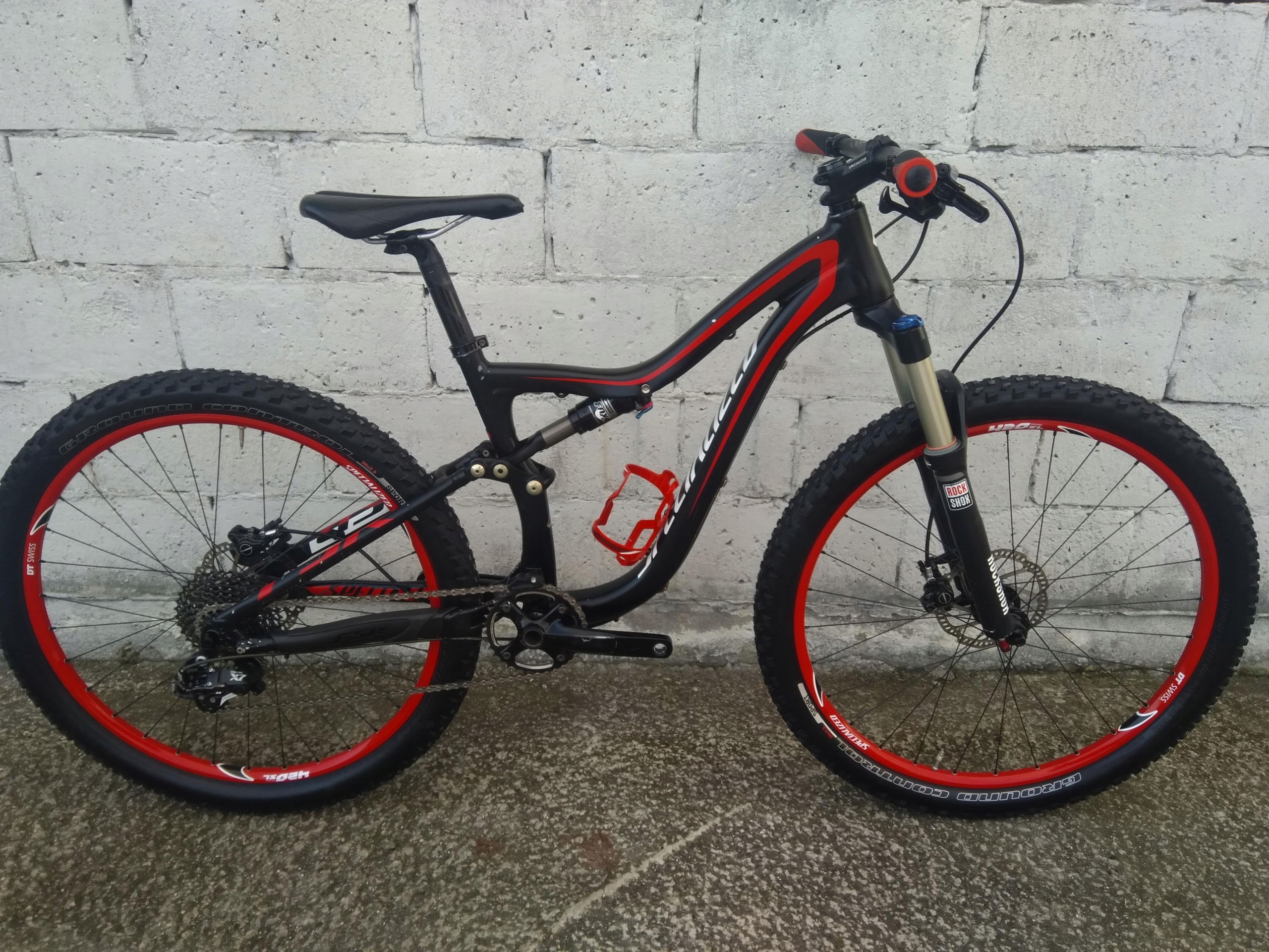 SPECIALIZED Camber full FOX 2015 1x10 dt swiss RS