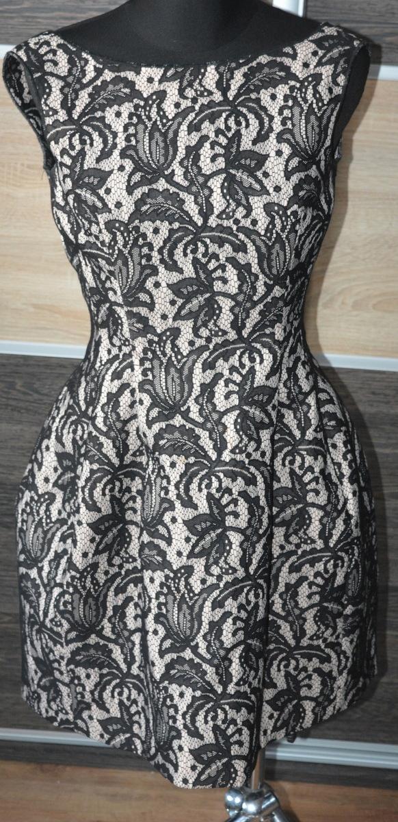 g* Koronkowa sukienka Zara XS