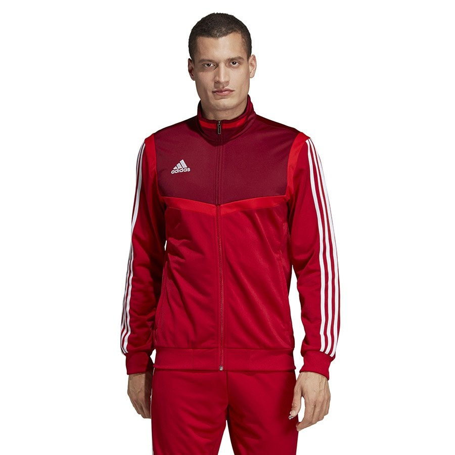 Bluza adidas TIRO 19 PES JKT D95936 czerwony XXL