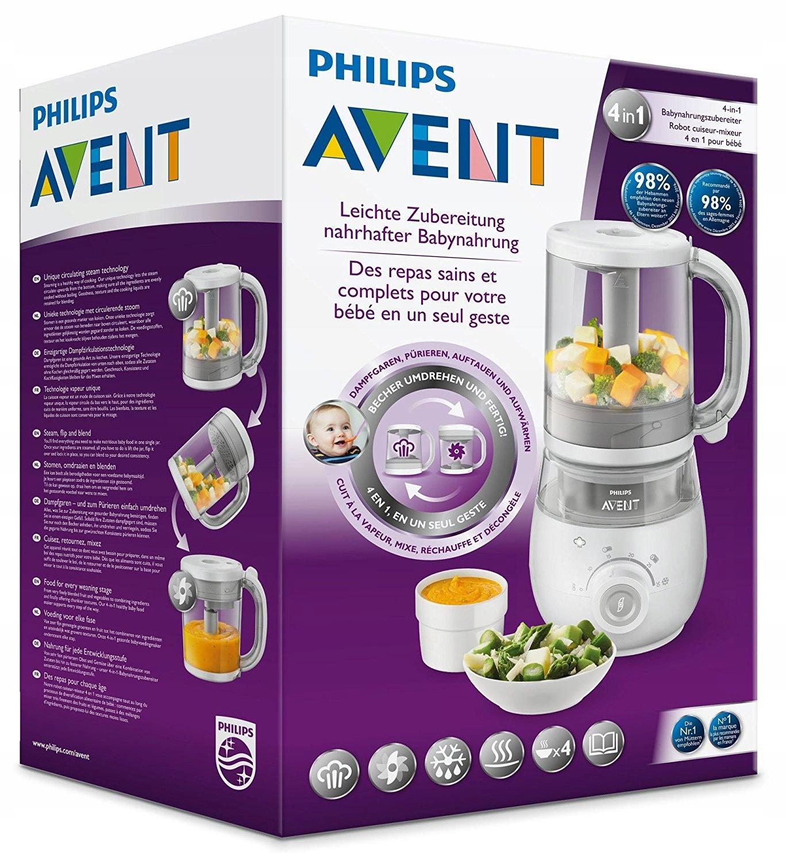 Philips Avent SCF875/02 4 w 1 Parowar i blender