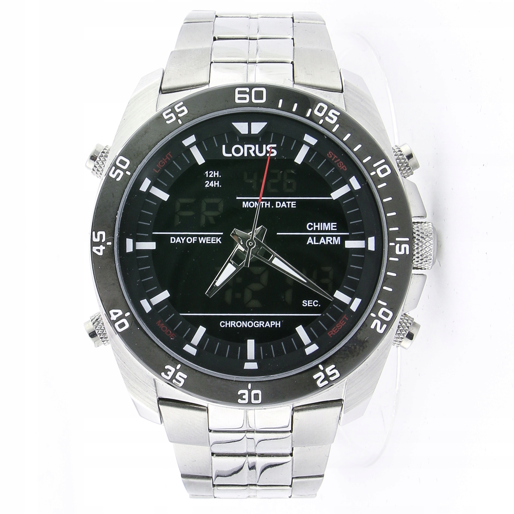 Zegarek LORUS RW611AX9 chronograf 10 ATM