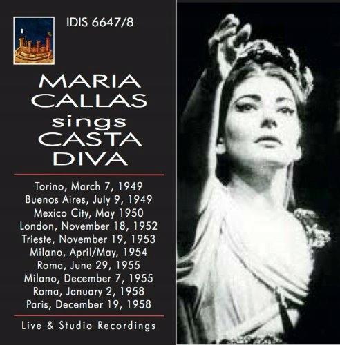 CD Callas, Maria - Sings Casta Diva Works By Belli