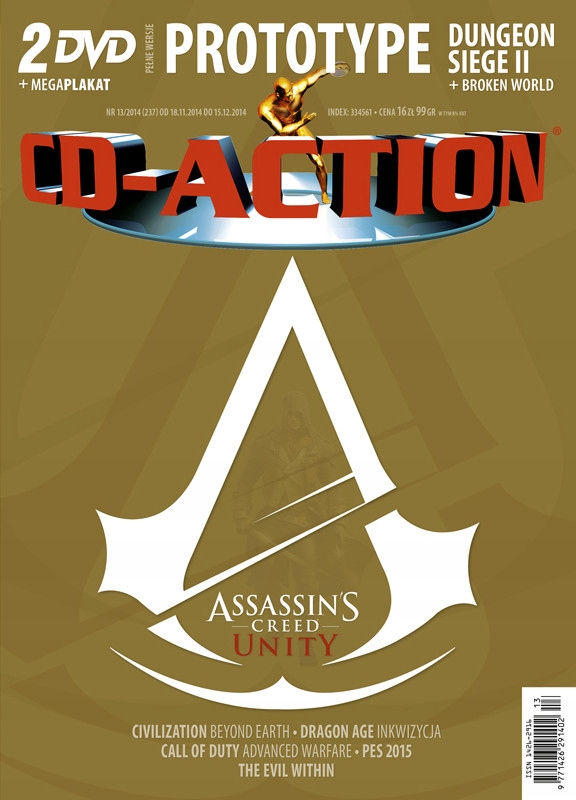 CD-ACTION Nr 13 / 2014 - NOWY, FOLIA