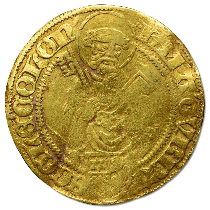 24.COLONIA, HERMAN IV, ZŁOTY GULDEN 1480 - 1508