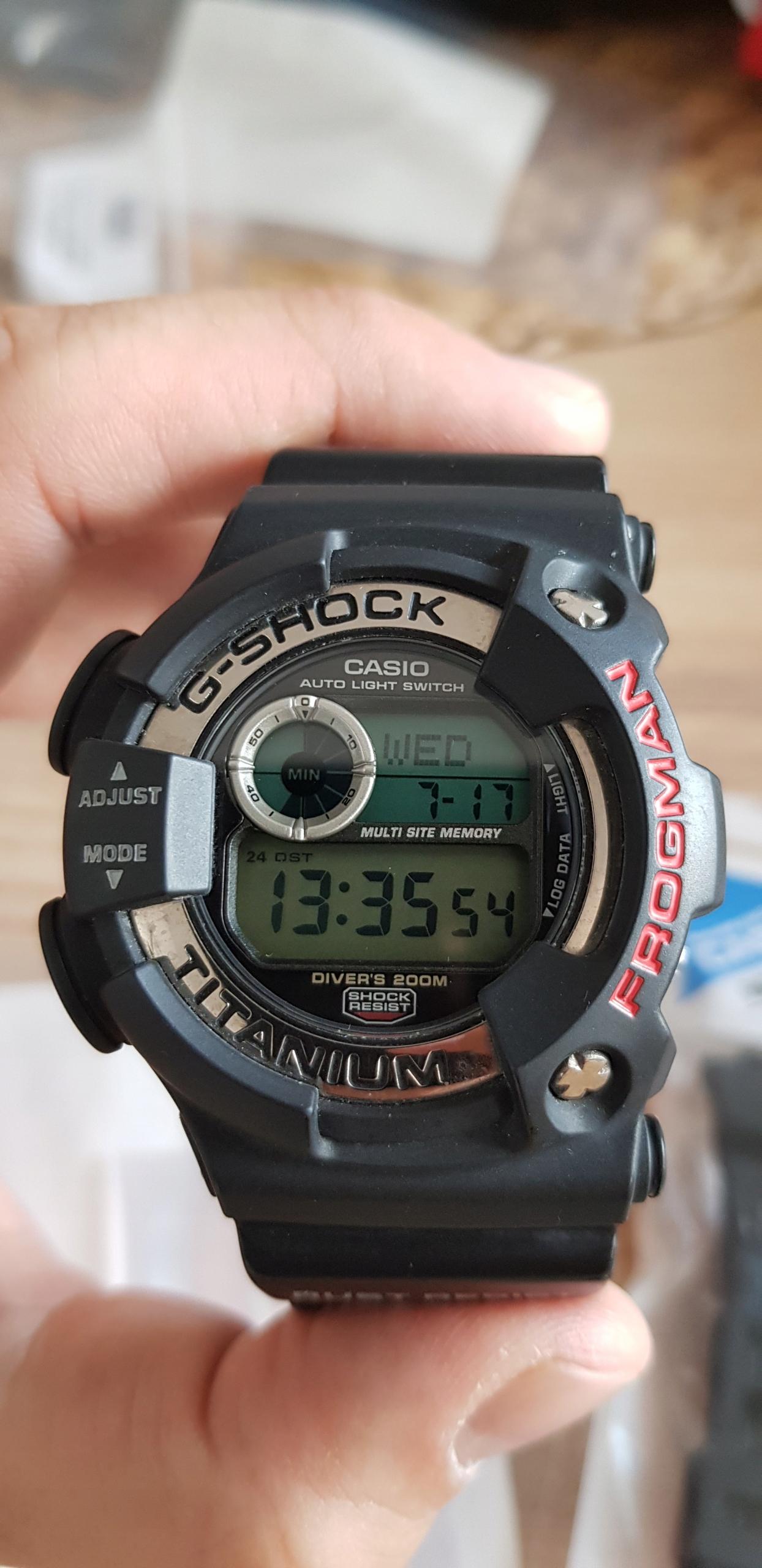 Casio DW9900 Frogman