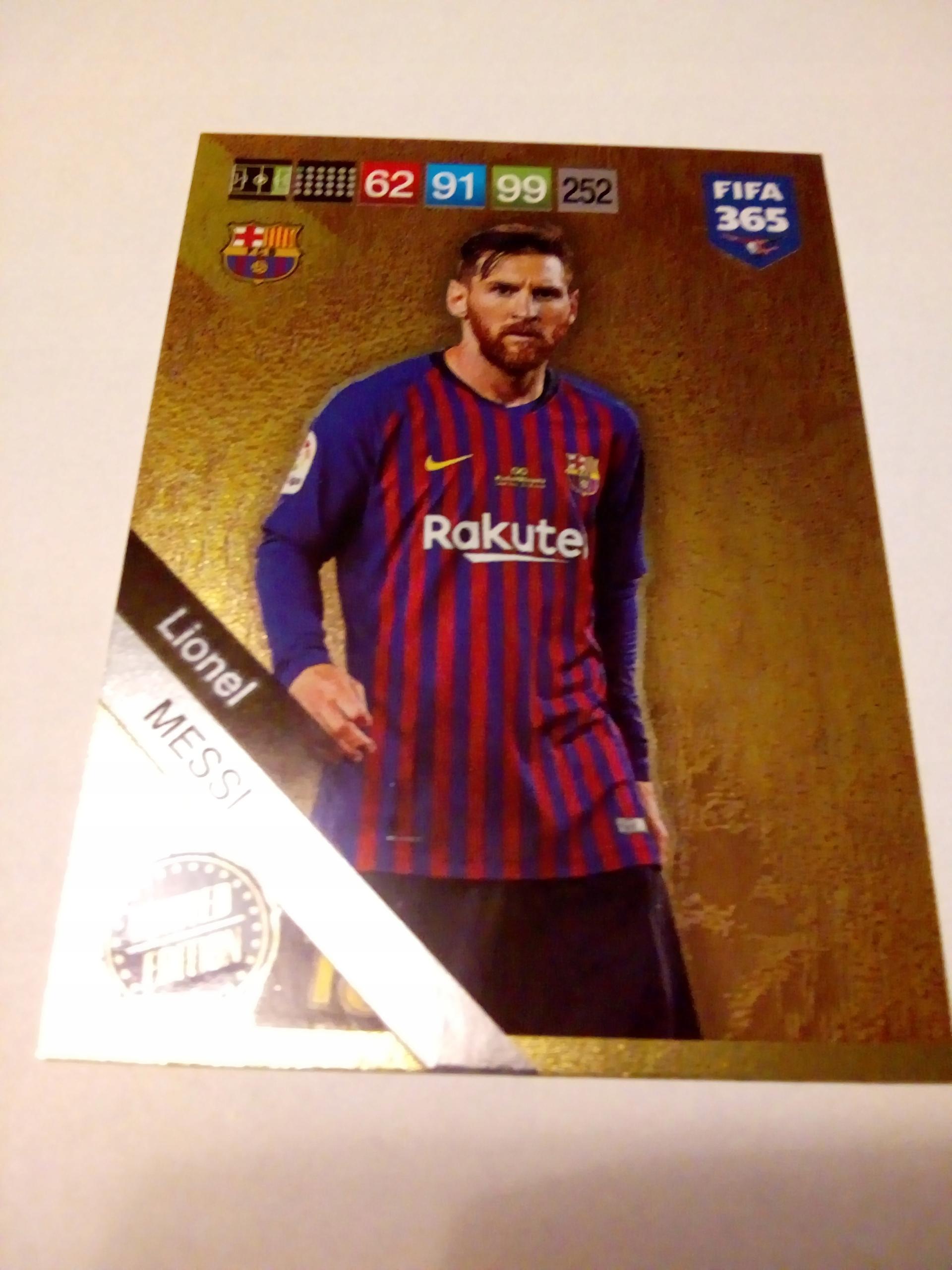 Karta Limited Lionel Messi - FIFA 365 2019
