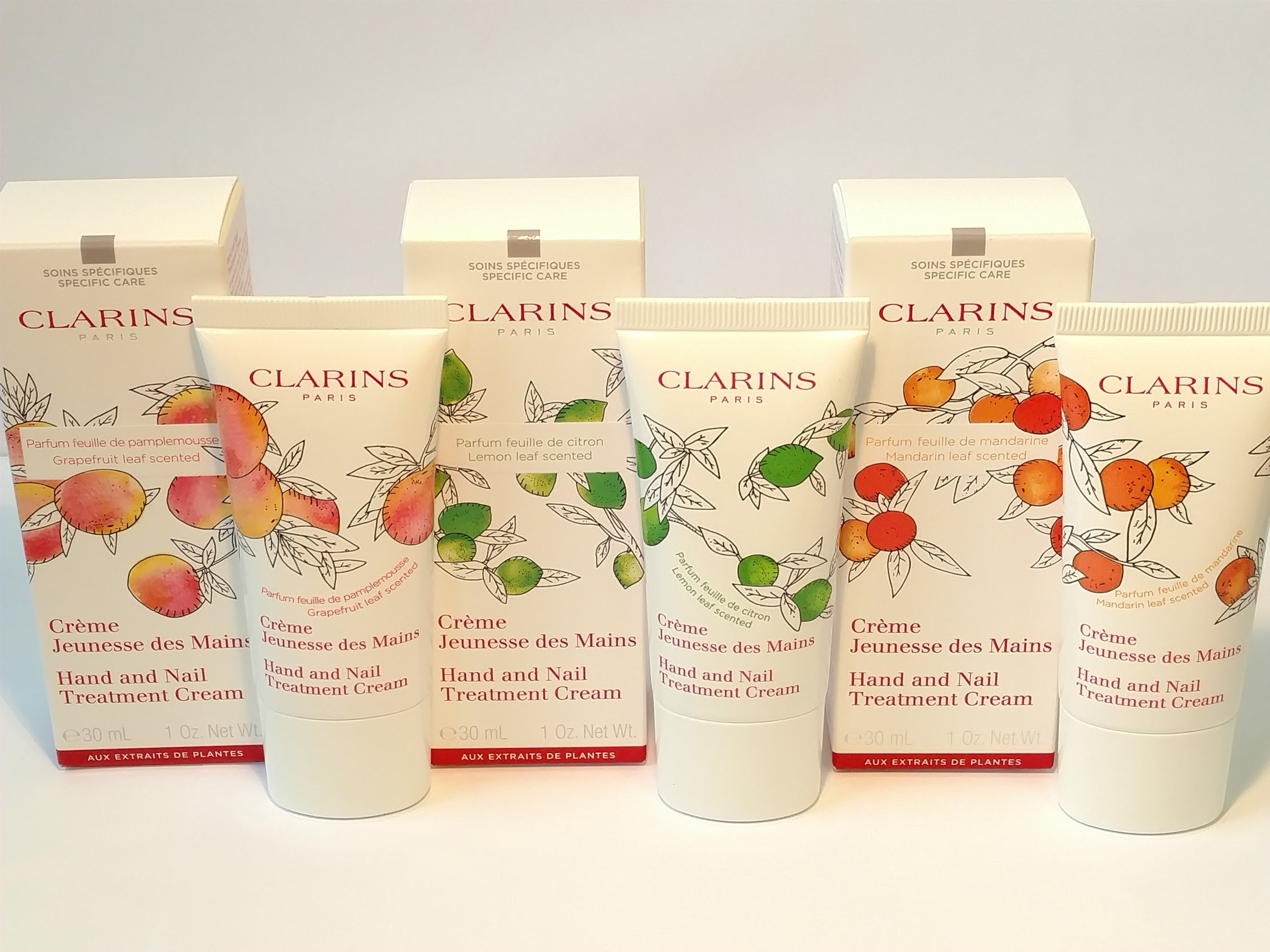 CLARINS HAND AND NAIL TREATMENT Krem do rąk 30ml