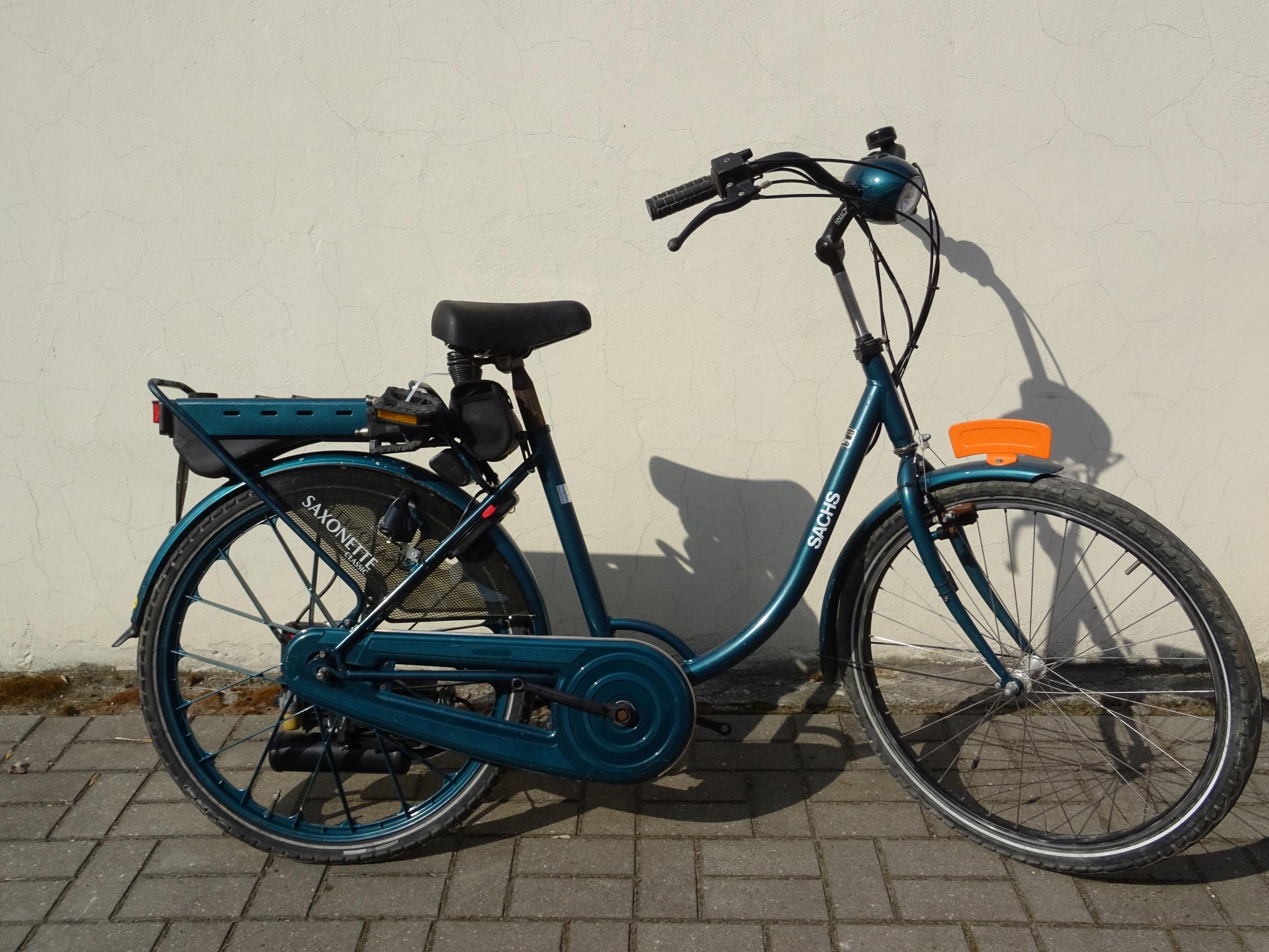 Rower z silnikiem Sachs Saxonette Classic-Torun