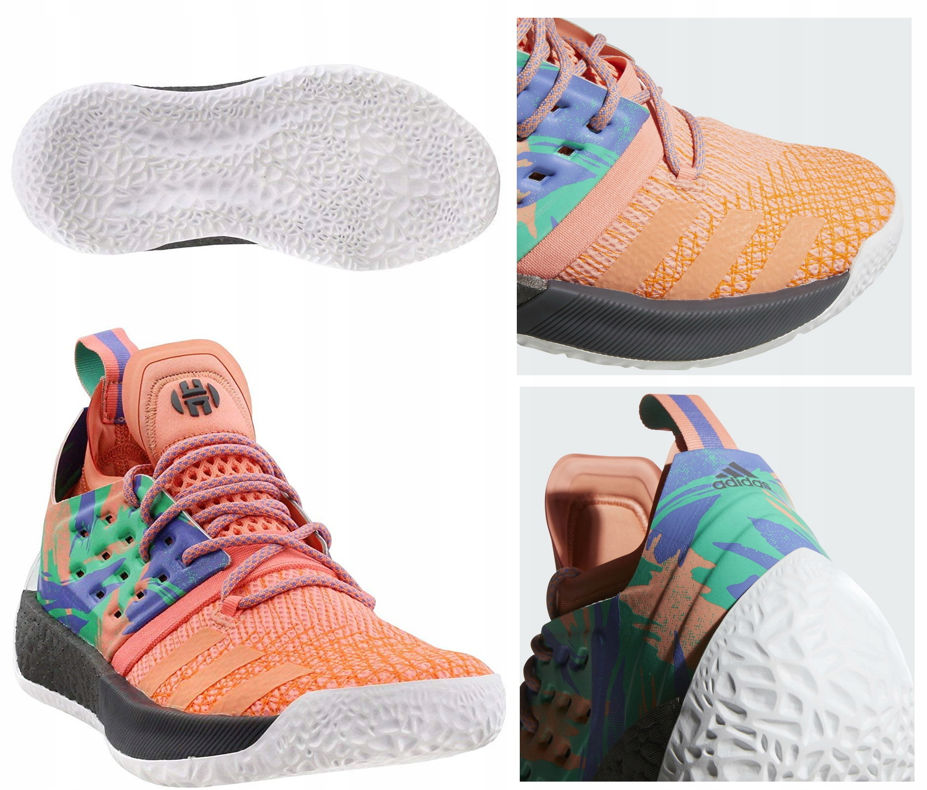 Adidas Harden Vol.2 Boost buty koszykarskie 41 13
