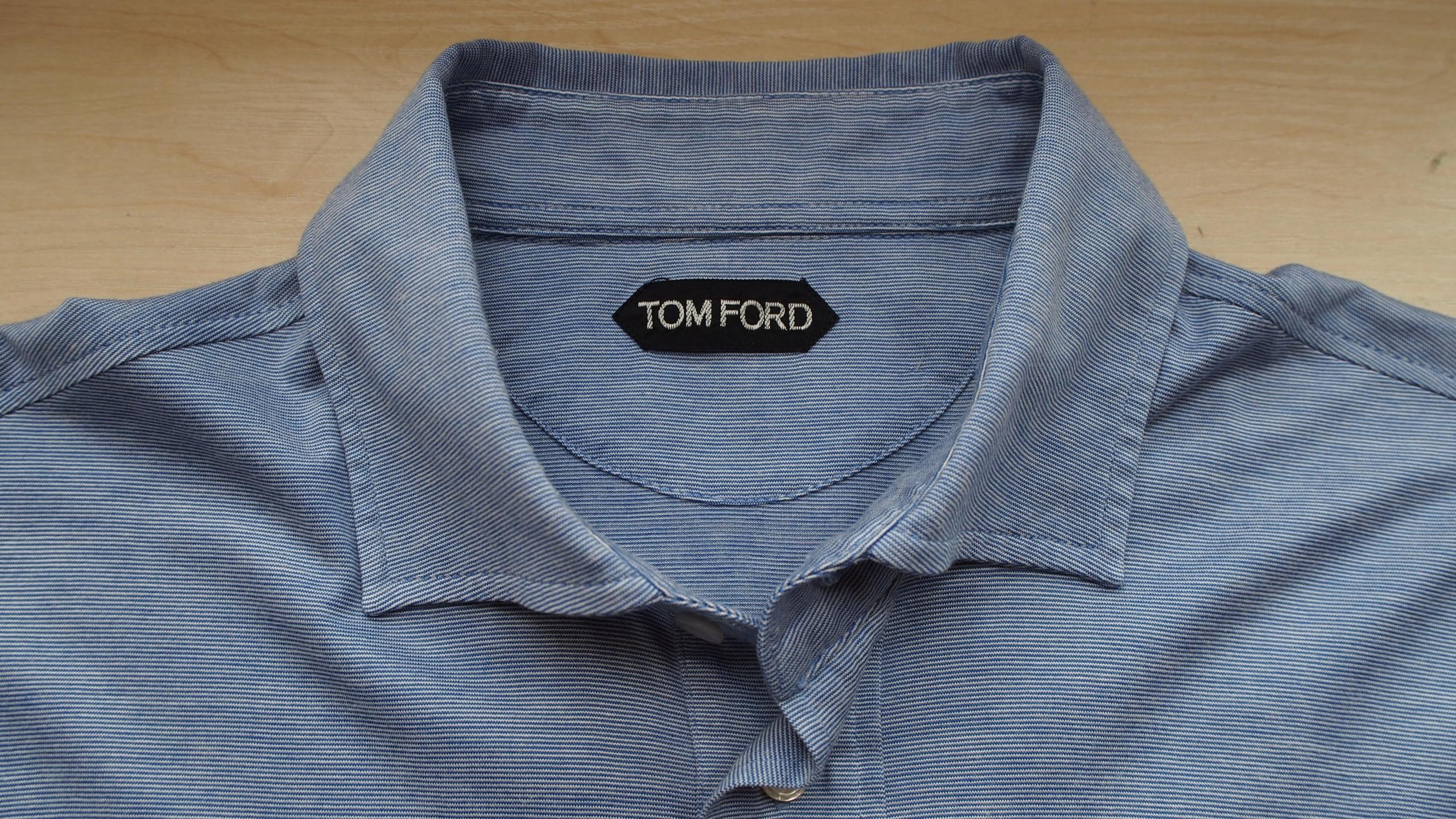 luksusowa koszula TOM FORD jedwab -rozm. 52- NOWA