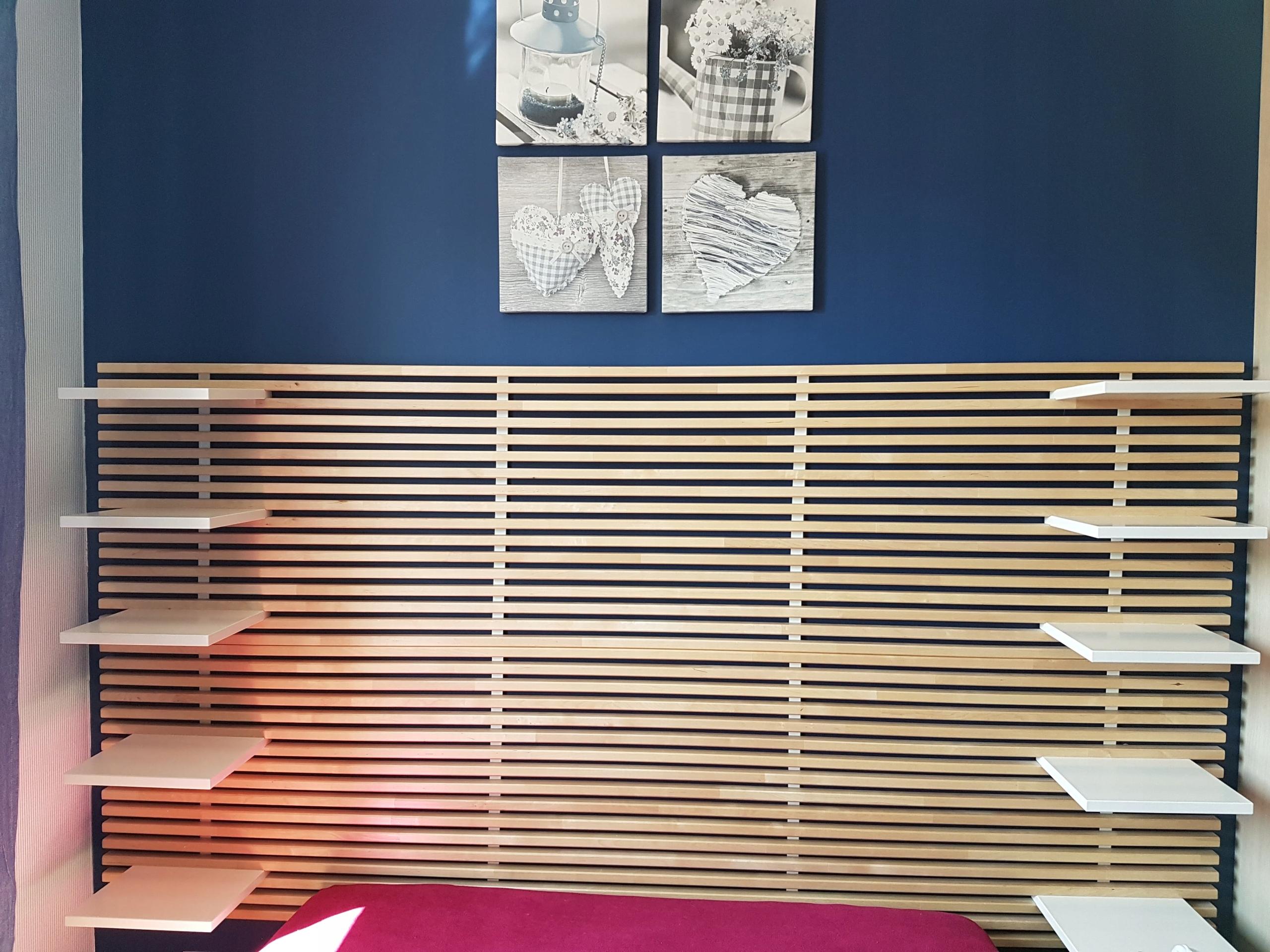 Wezgłowie łóżka Zagłówek Szczyt Ikea Mandal 8003603043