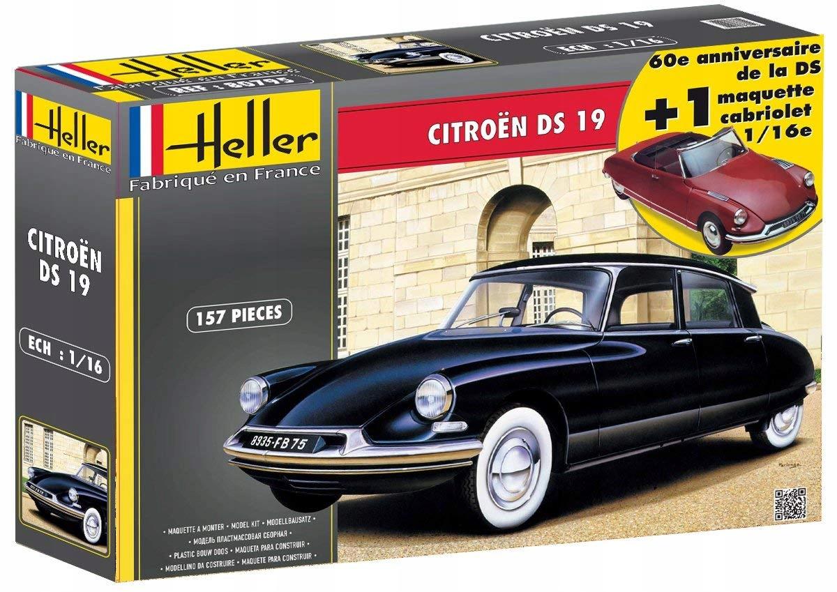 Heller 85795 DWA MODEL Citroen DS19 Cabriolet 1:16