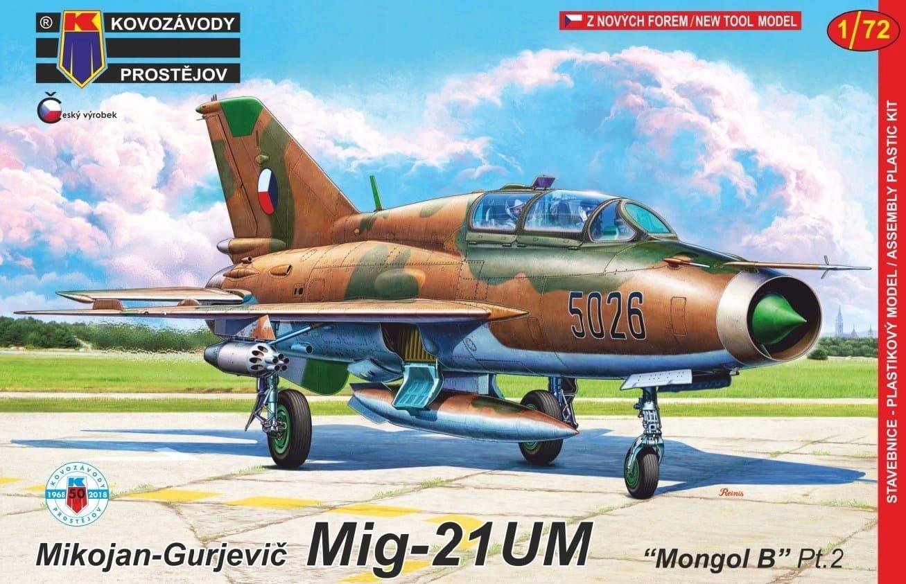 KOVOZAVODY 0132 - 1:72 MiG-21UM Mongol B Pt.2