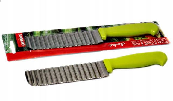 Karbowany nożyk BLW rozszerzanie diety