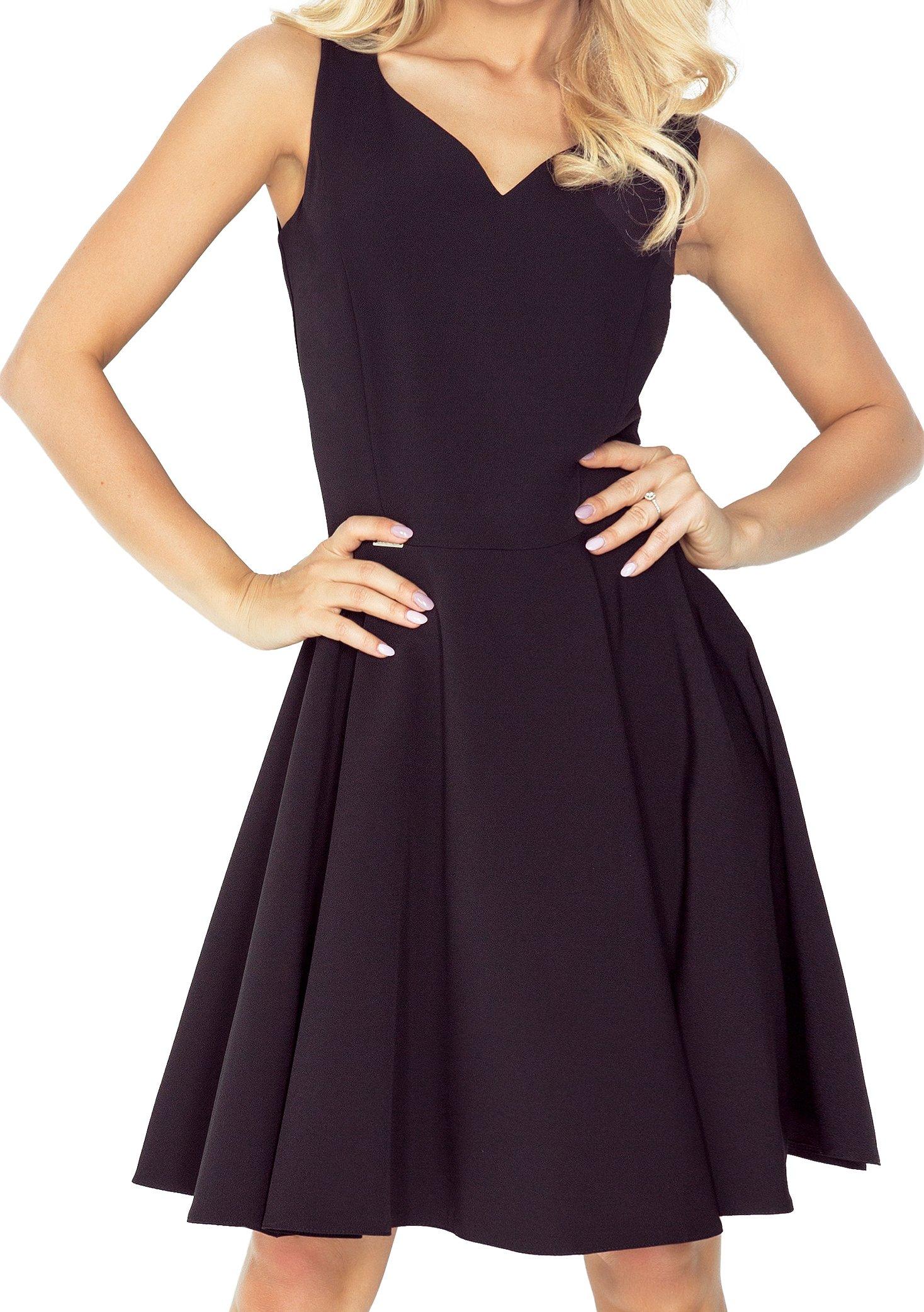 b771e572ac PIĘKNA Sukienka NA WESELE ROZKLOSZOWANA 114-9 S 36 - 7211247107 ...