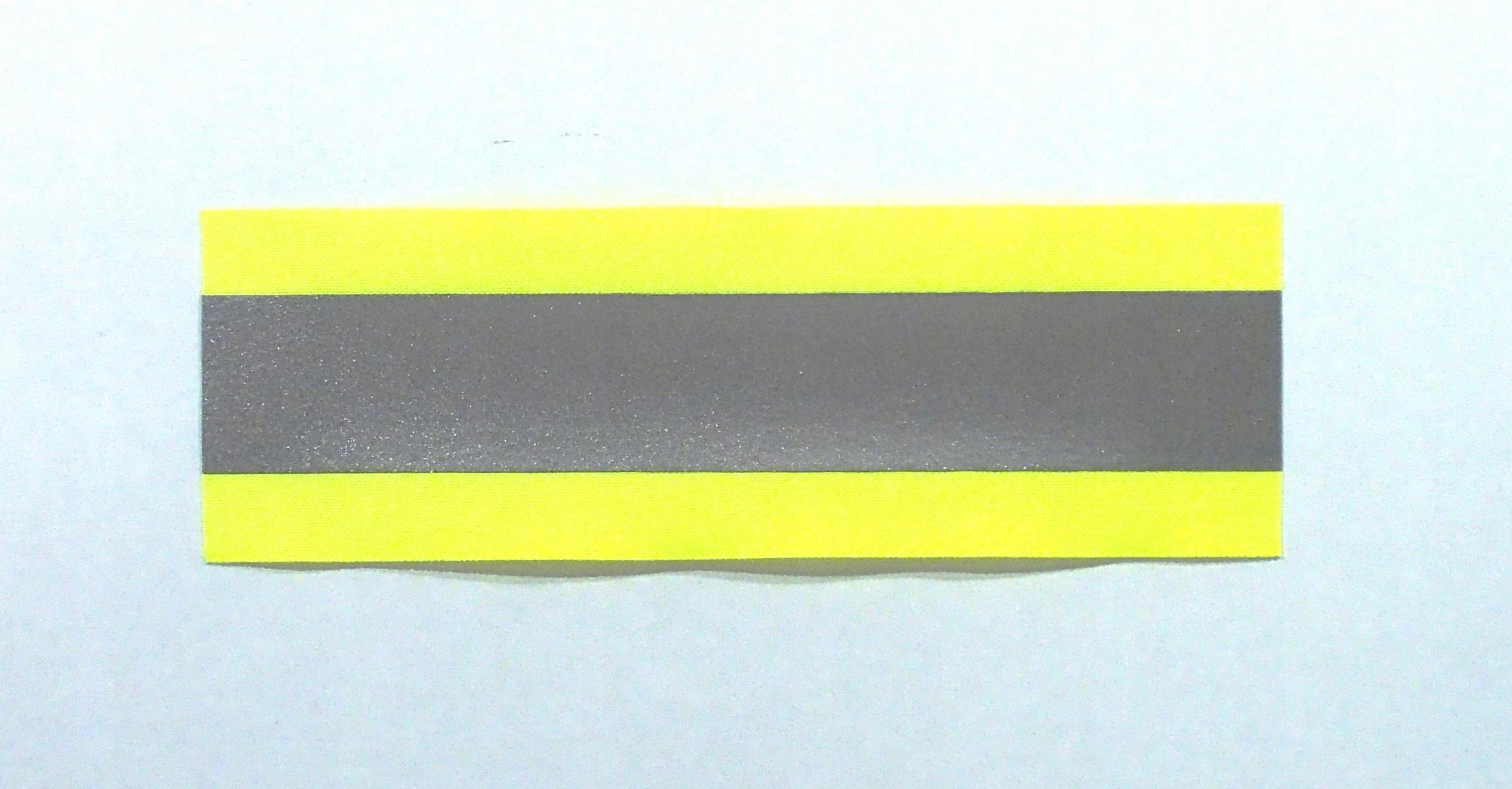 Taśma odblaskowa do naszycia szer. 50mm długość 2m