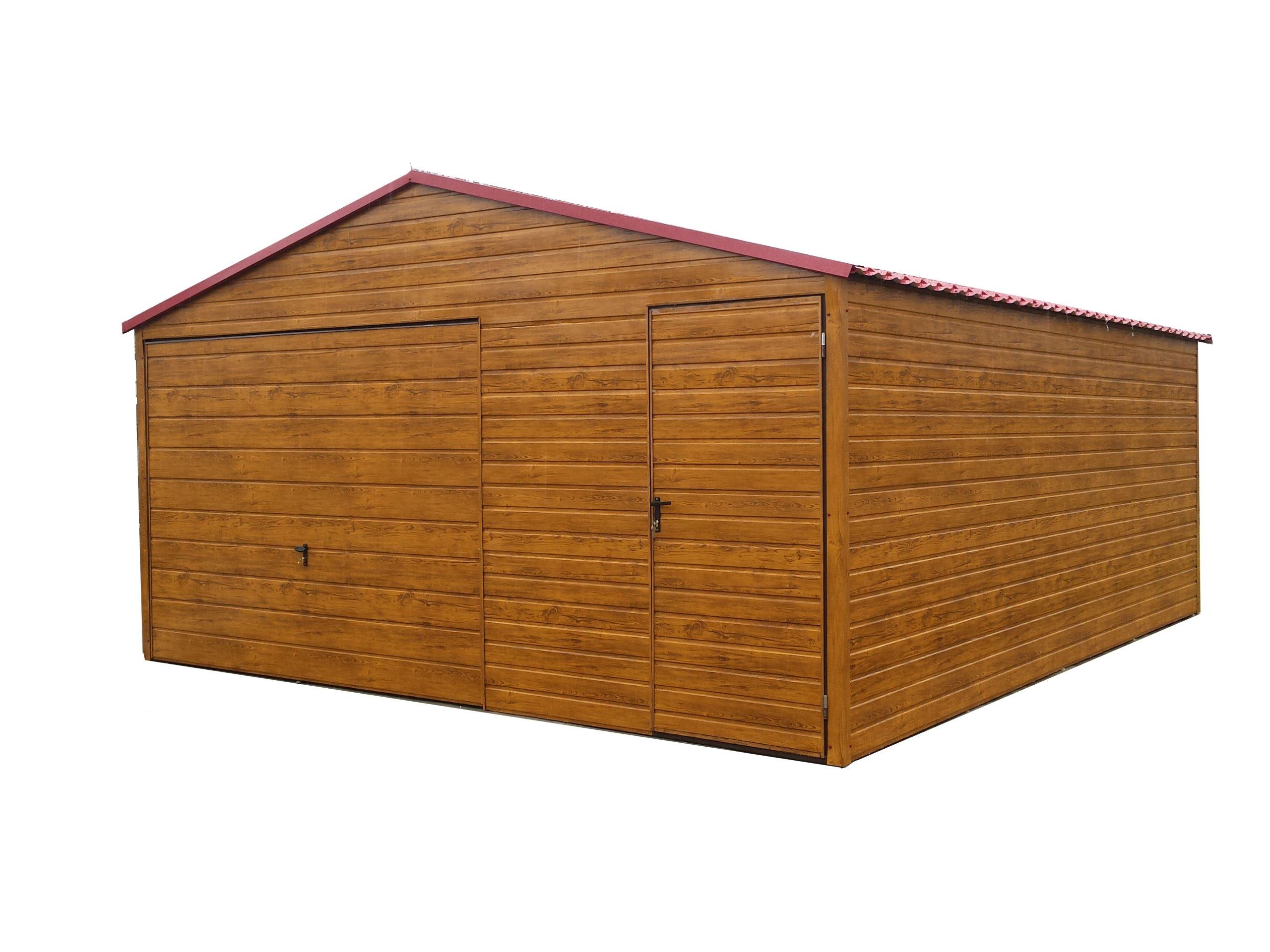 Garaż Blaszany Garaże Blaszane Blaszak 5x6 Płock 7310248160