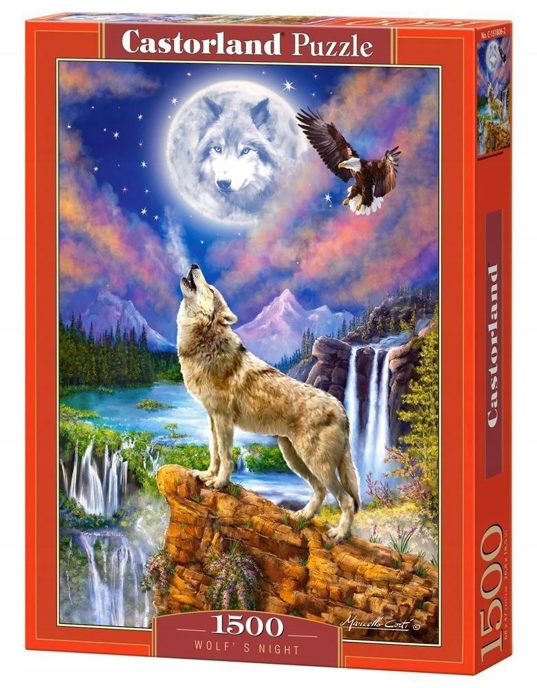 PUZZLE 1500 WOLF'S NIGHT CASTOR, CASTORLAND