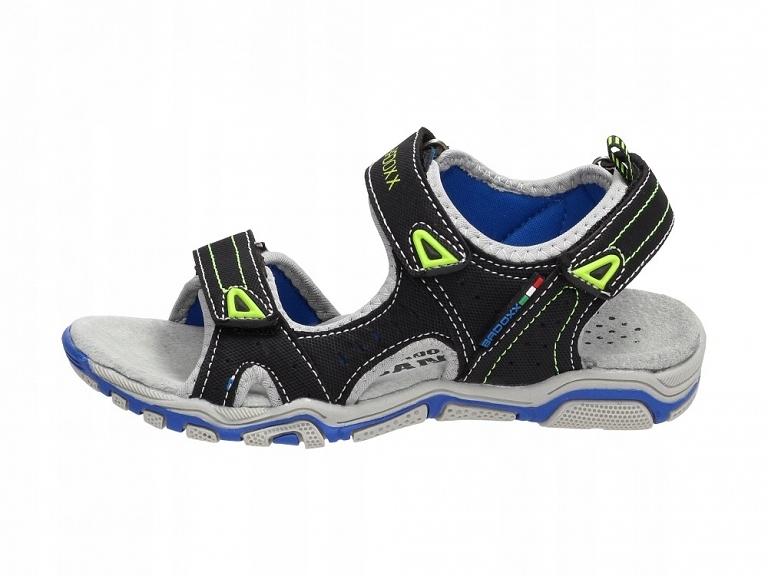 Czarne sandałki dziecięce BADOXX 5sd9138 r36